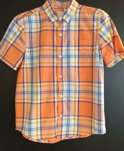 Boys Old Navy plaid shirt